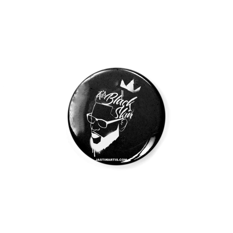This Black Skin Accessories Button by Artis Shop