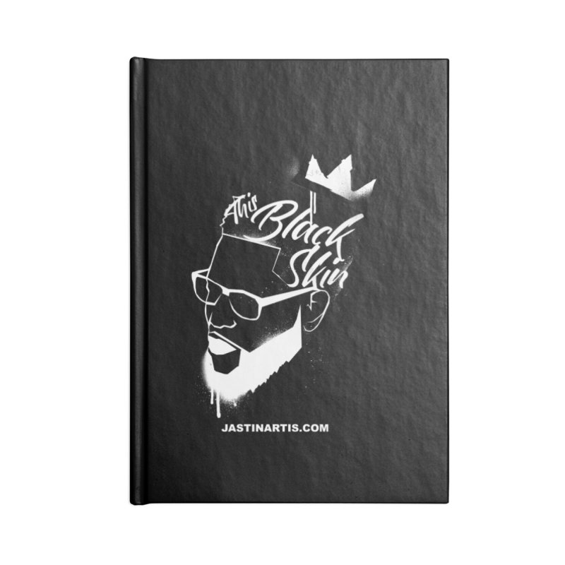 This Black Skin Accessories Notebook by Artis Shop