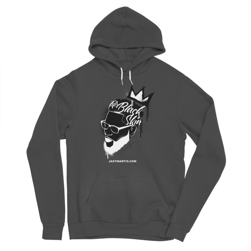 This Black Skin Women's Pullover Hoody by Artis Shop