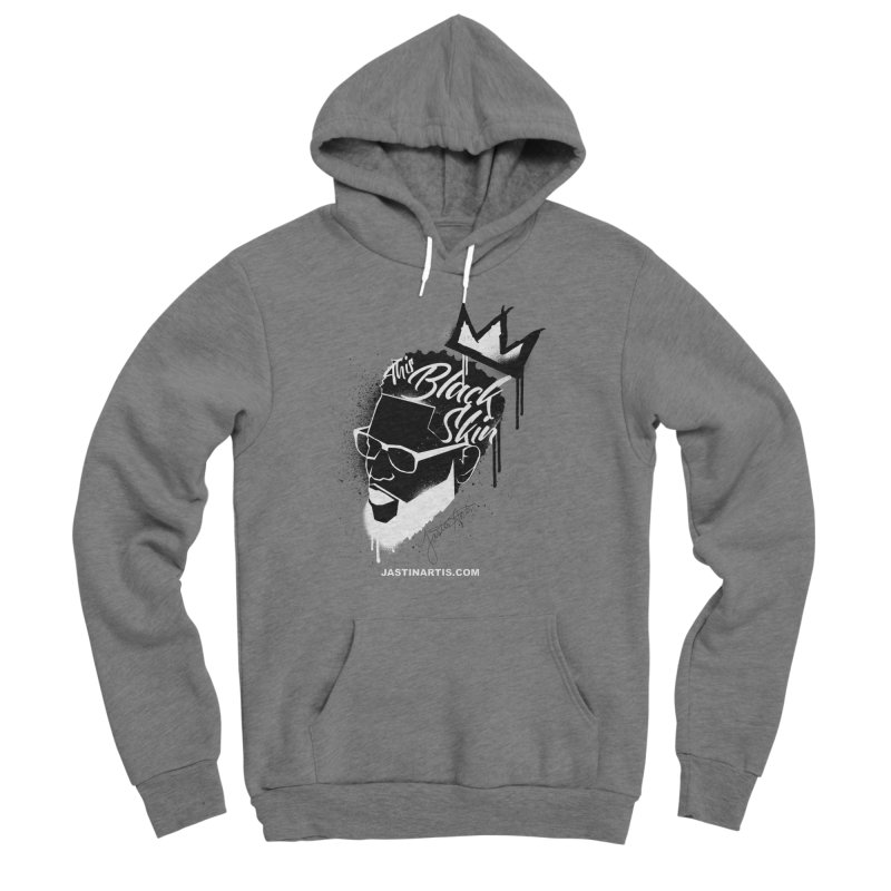 This Black Skin Men's Pullover Hoody by Artis Shop