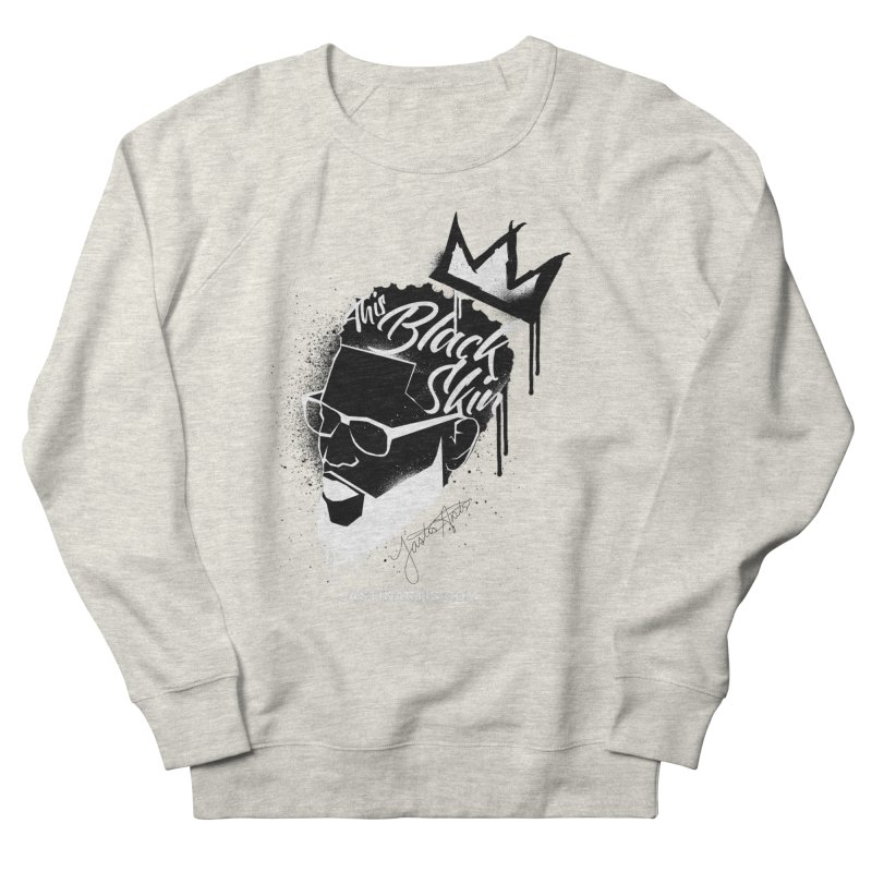 This Black Skin Women's Sweatshirt by Artis Shop