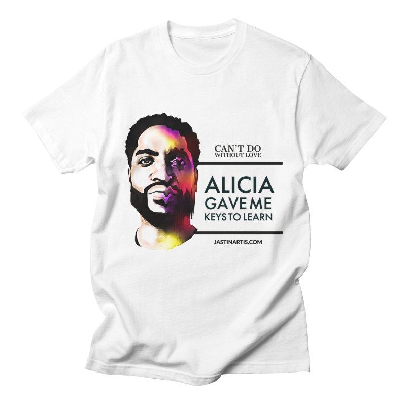 LYRICS ON MERCH - Can't Do Without Love (CDWL) Men's T-Shirt by Artis Shop