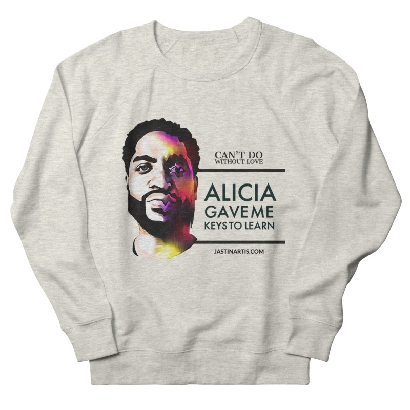 LYRICS ON MERCH - Can't Do Without Love (CDWL) Women's Sweatshirt by Artis Shop