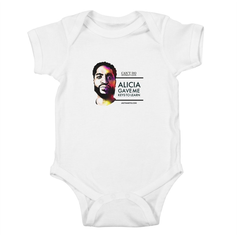 LYRICS ON MERCH - Can't Do Without Love (CDWL) Kids Baby Bodysuit by Artis Shop