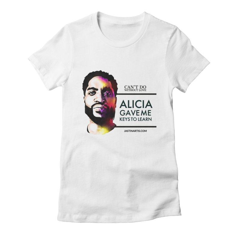LYRICS ON MERCH - Can't Do Without Love (CDWL) Women's T-Shirt by Artis Shop