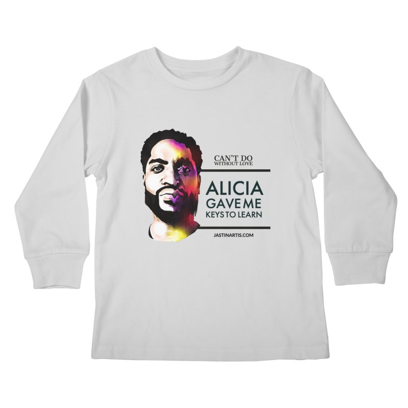 LYRICS ON MERCH - Can't Do Without Love (CDWL) Kids Longsleeve T-Shirt by Artis Shop
