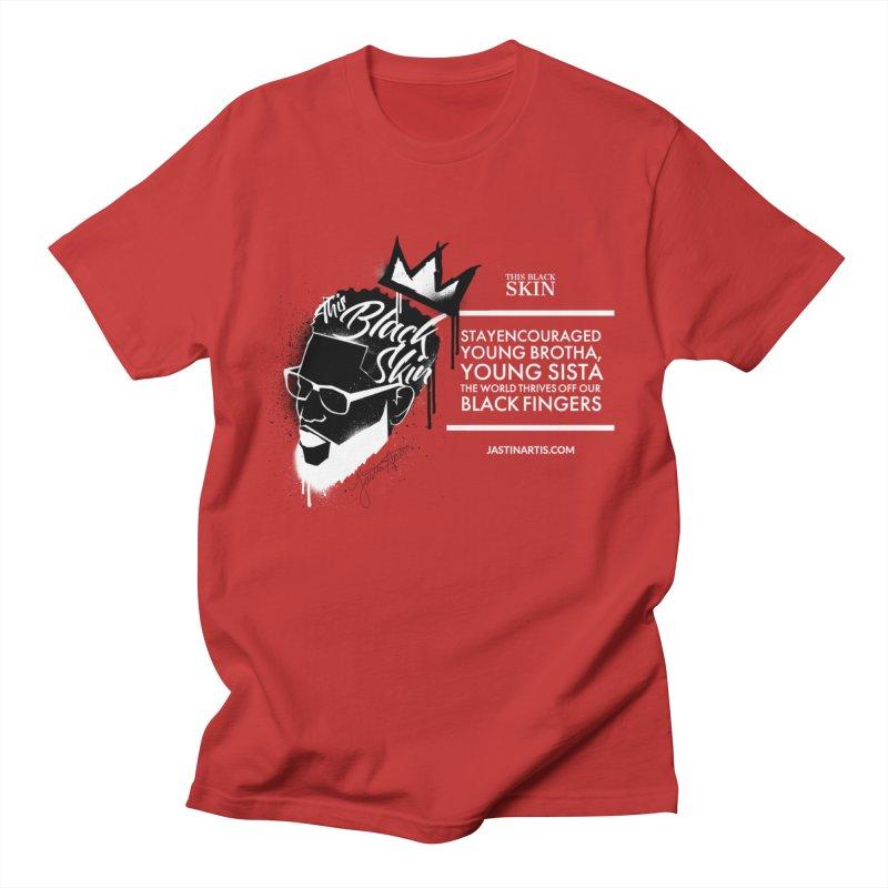 LYRICS ON MERCH - This Black Skin Men's T-Shirt by Artis Shop
