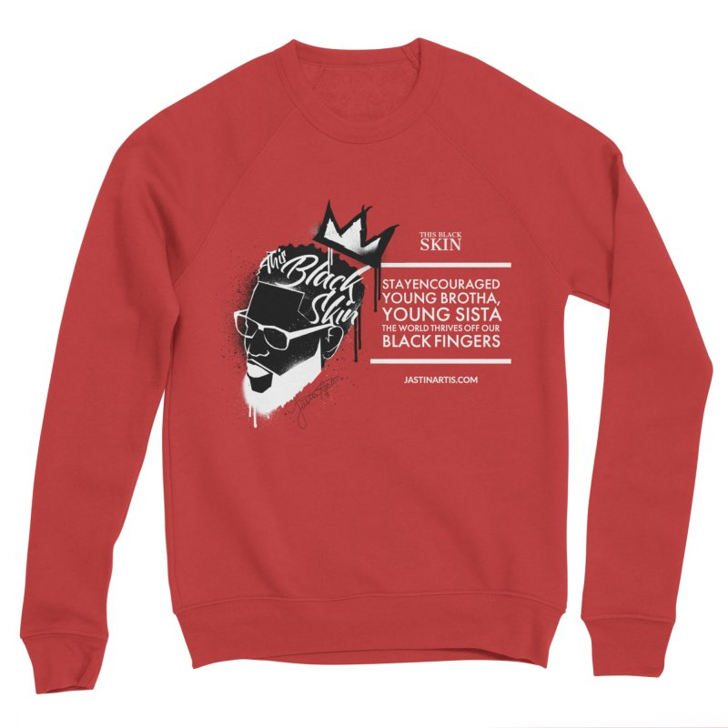 LYRICS ON MERCH - This Black Skin Men's Sweatshirt by Artis Shop