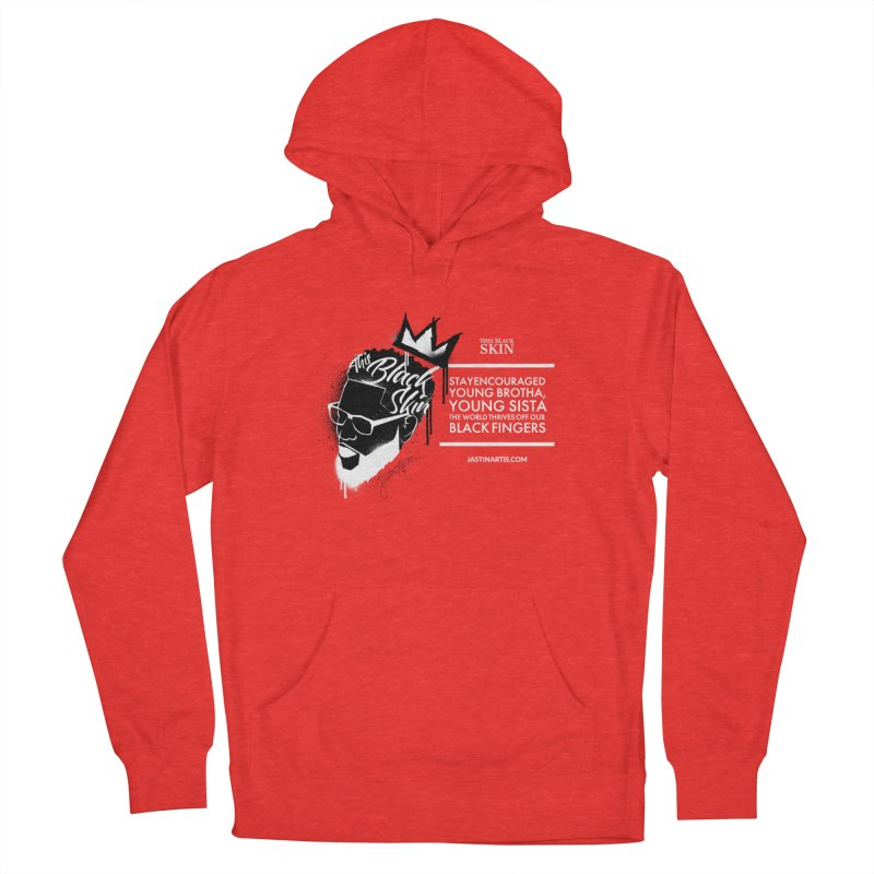 LYRICS ON MERCH - This Black Skin Men's Pullover Hoody by Artis Shop