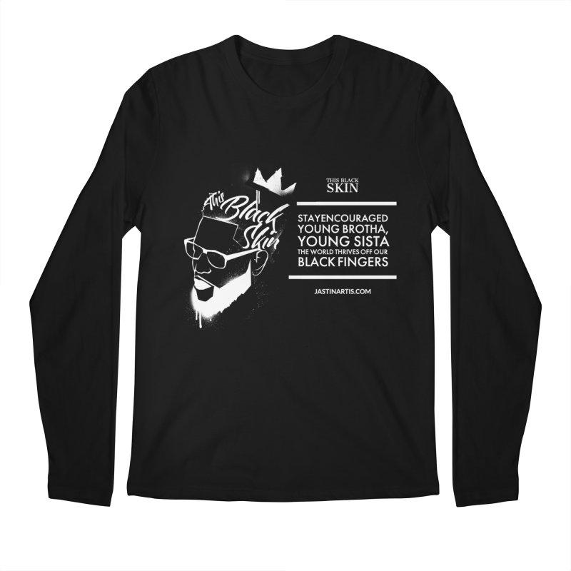 LYRICS ON MERCH - This Black Skin Men's Longsleeve T-Shirt by Artis Shop