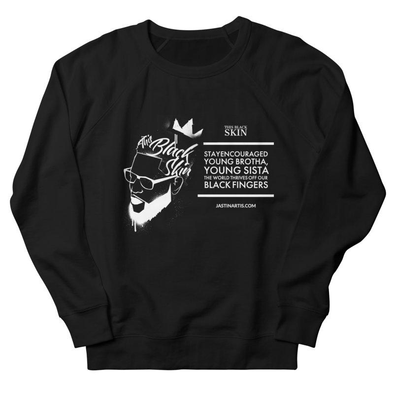 LYRICS ON MERCH - This Black Skin Women's Sweatshirt by Artis Shop