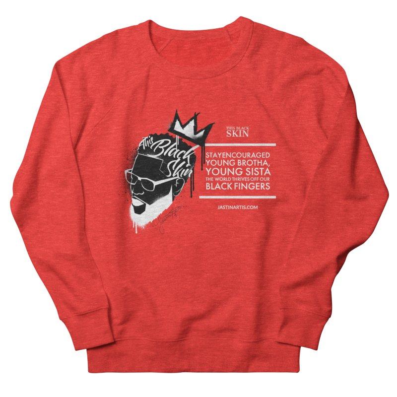 LYRICS ON MERCH - This Black Skin Men's Sweatshirt by Artis Shop