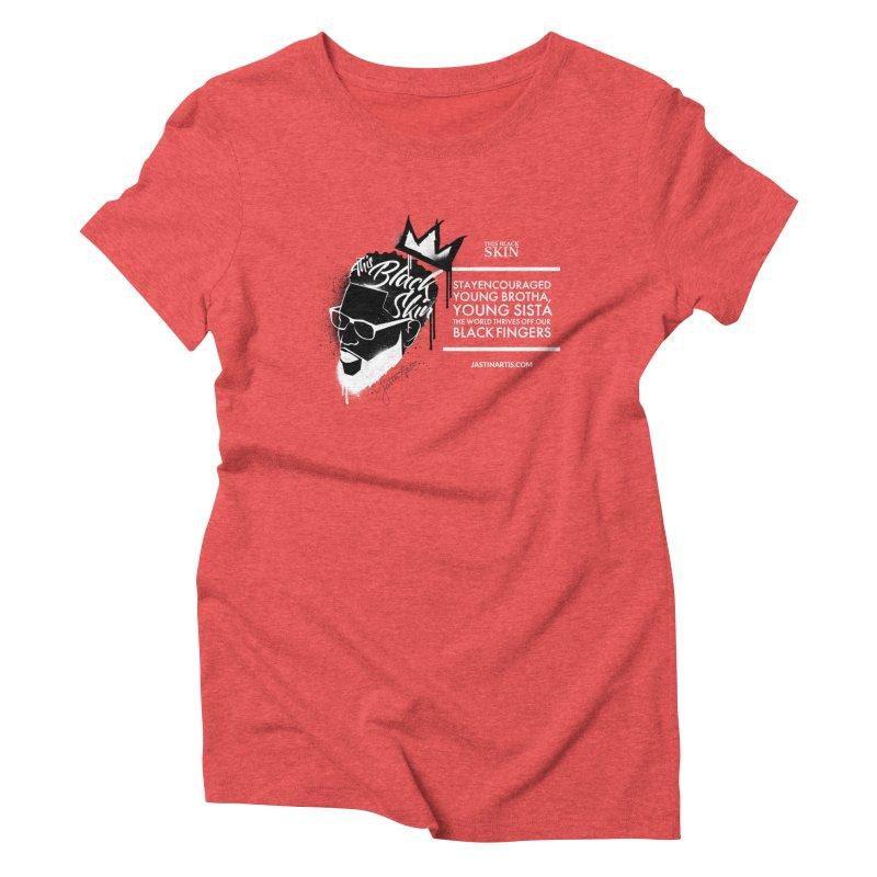 LYRICS ON MERCH - This Black Skin Women's T-Shirt by Artis Shop