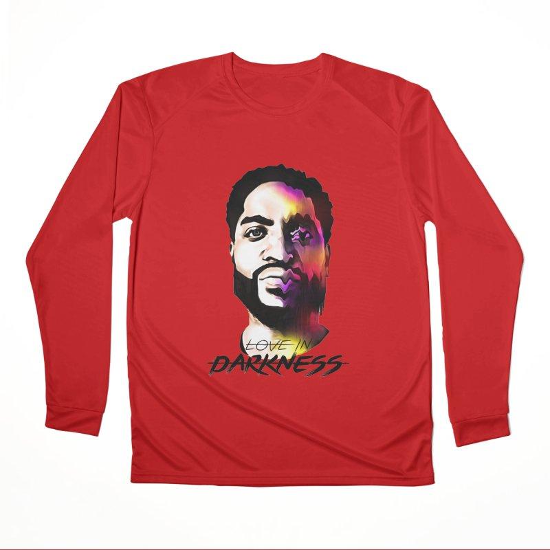 Love in Darkness Merch (black text) Men's Longsleeve T-Shirt by Artis Shop