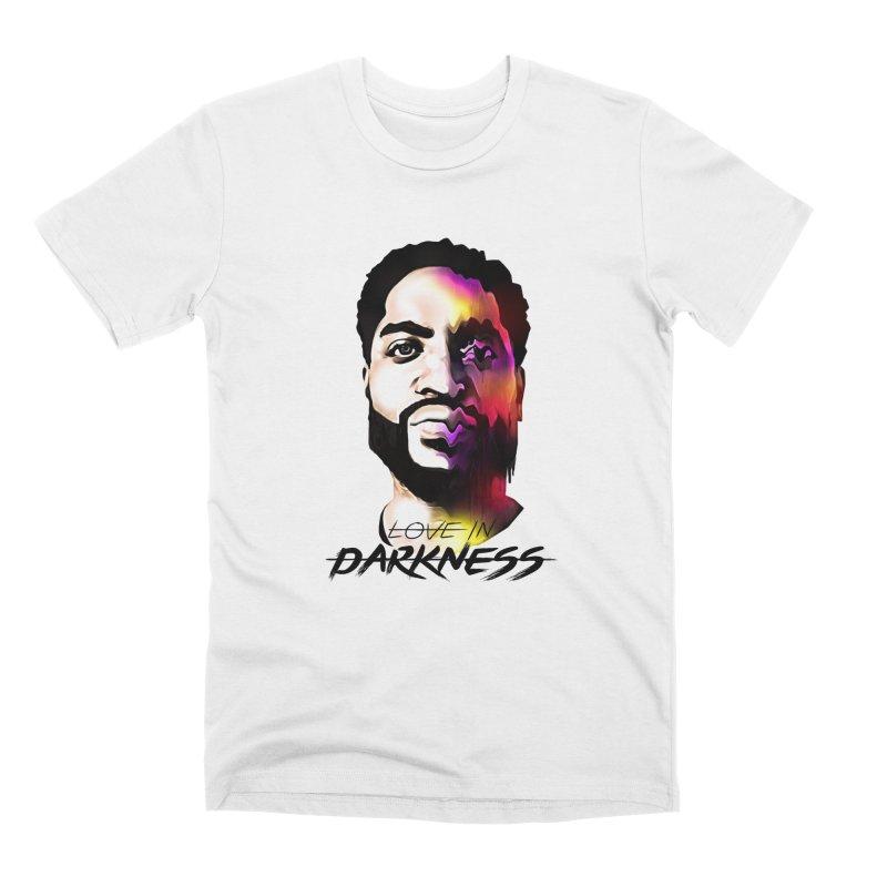 Love in Darkness Merch (black text) Men's T-Shirt by Artis Shop