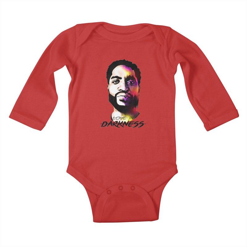 Love in Darkness Merch (black text) Kids Baby Longsleeve Bodysuit by Artis Shop