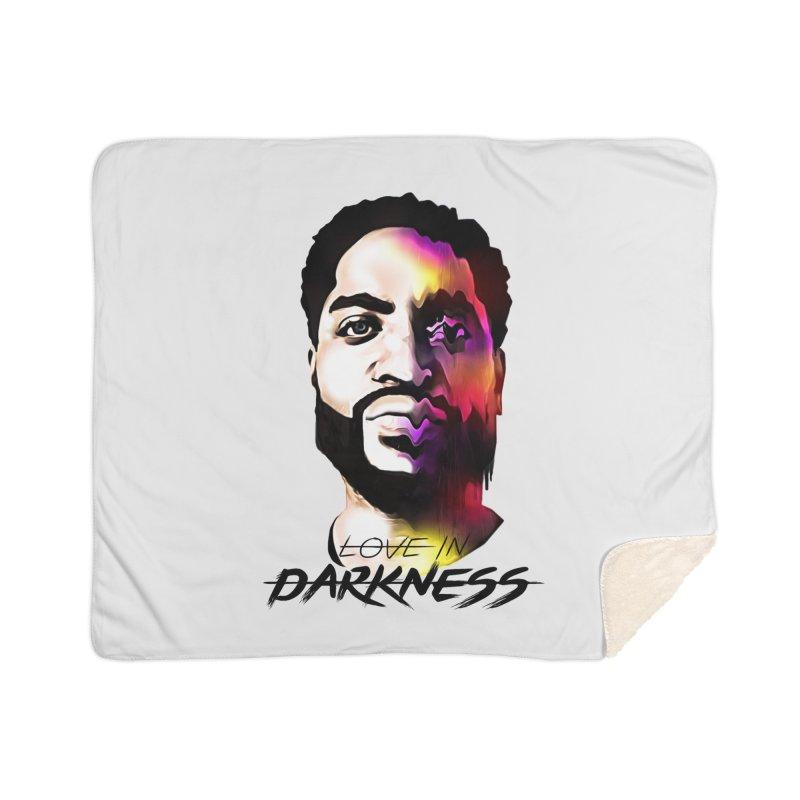 Love in Darkness Merch (black text) Home Blanket by Artis Shop