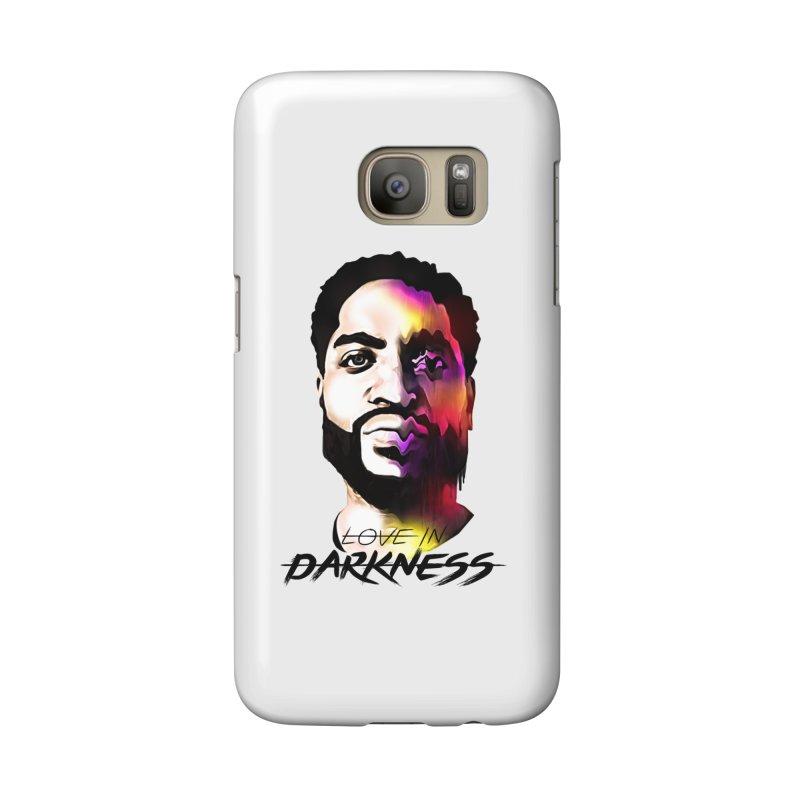 Love in Darkness Merch (black text) Accessories Phone Case by Artis Shop