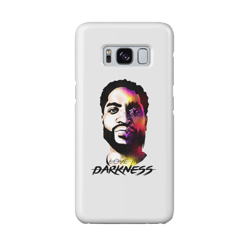 Love in Darkness Merch (black text) Accessories Phone Case by Artis Shop