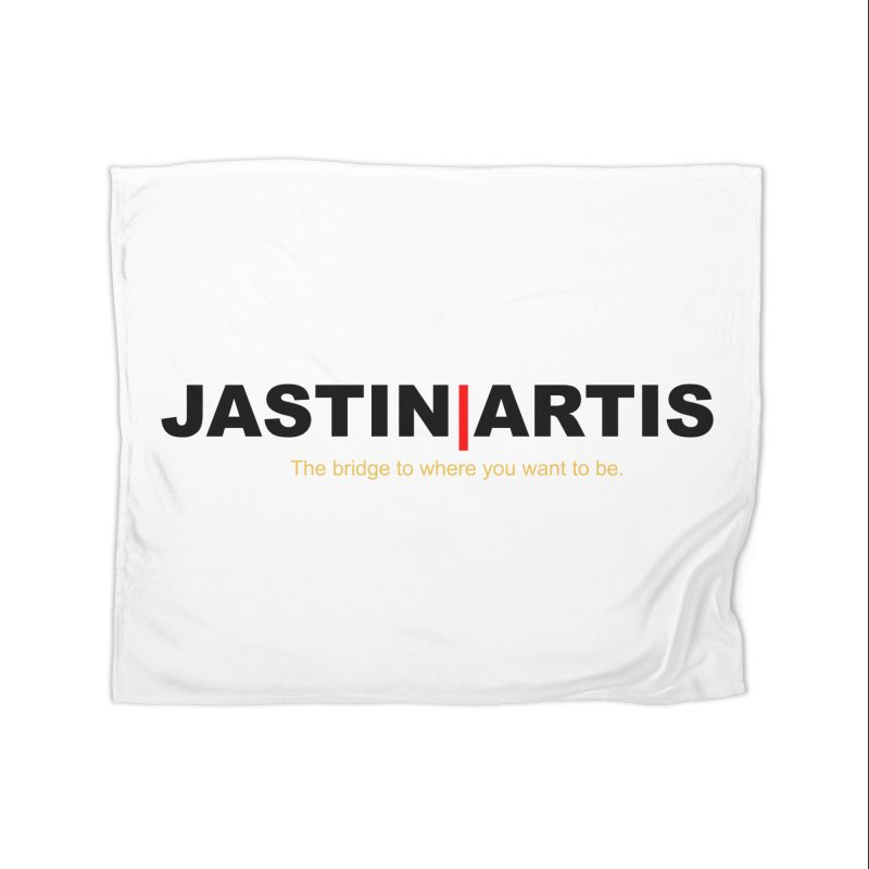 Jastin Artis Apparel (White) Home Blanket by Artis Shop