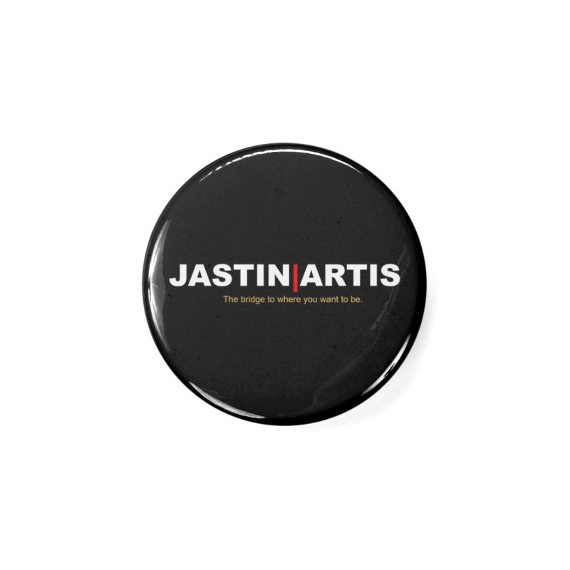 Jastin Artis Apparel (White) Accessories Button by Artis Shop
