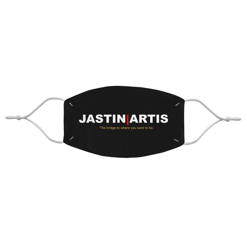 Jastin Artis Apparel (White) Accessories Face Mask by Artis Shop