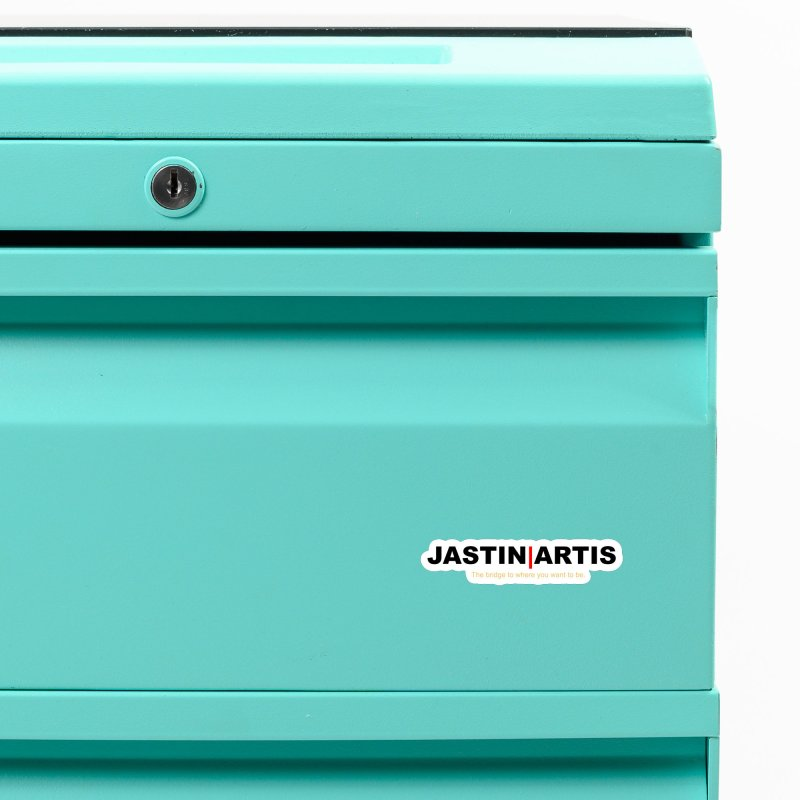 Jastin Artis Apparel (White) Accessories Magnet by Artis Shop