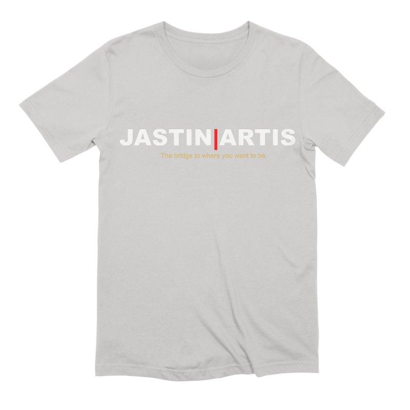 Jastin Artis Apparel (White) Men's T-Shirt by Artis Shop