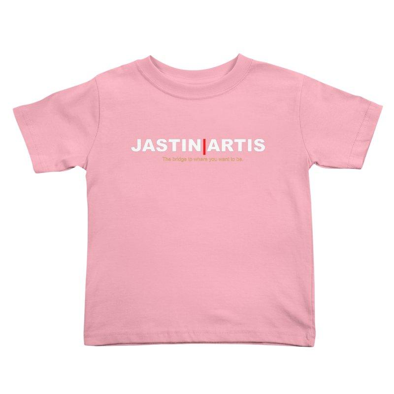 Jastin Artis Apparel (White) Kids Toddler T-Shirt by Artis Shop