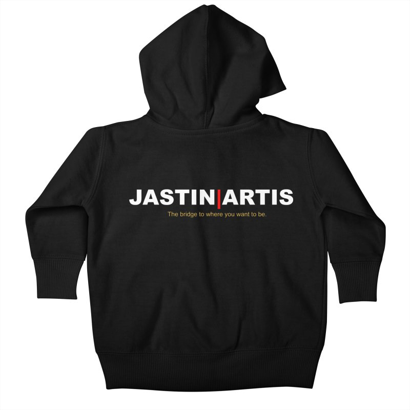 Jastin Artis Apparel Kids Baby Zip-Up Hoody by Artis Shop