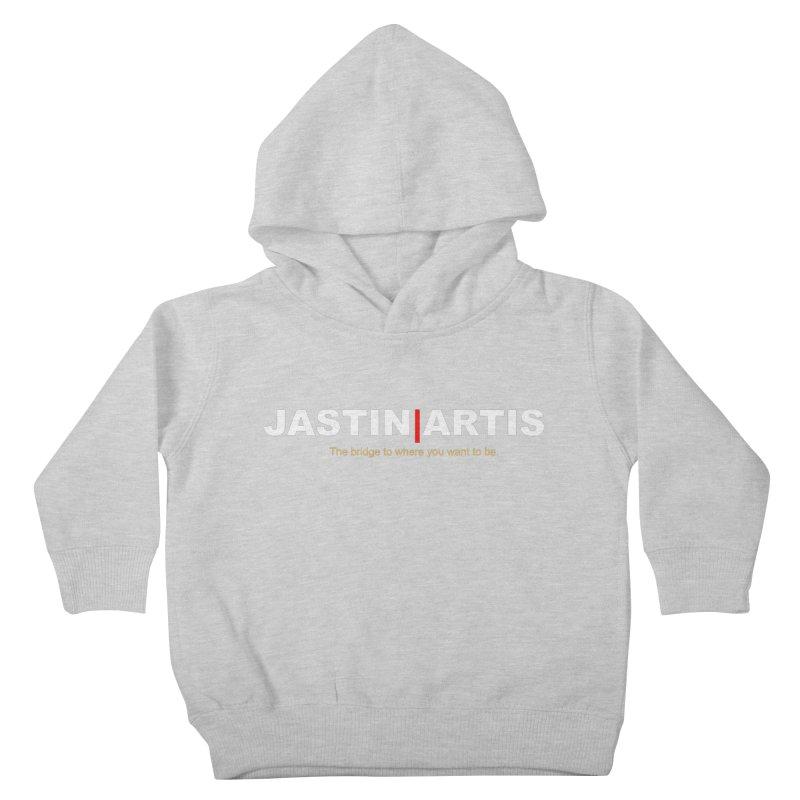 Jastin Artis Apparel (White) Kids Toddler Pullover Hoody by Artis Shop