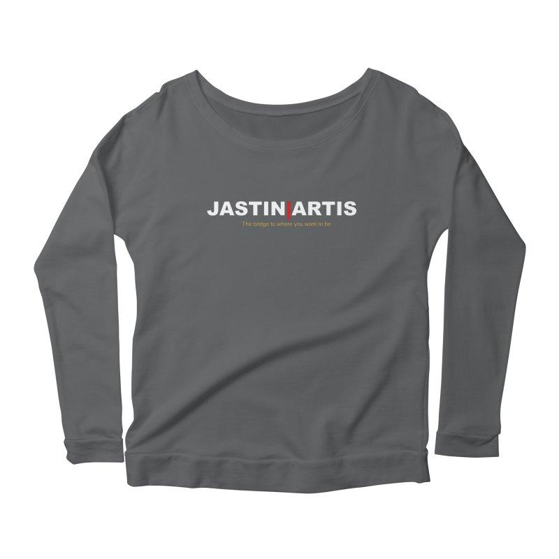 Jastin Artis Apparel Women's Scoop Neck Longsleeve T-Shirt by Artis Shop