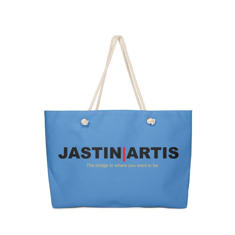 Jastin Artis Apparel (White) Accessories Bag by Artis Shop