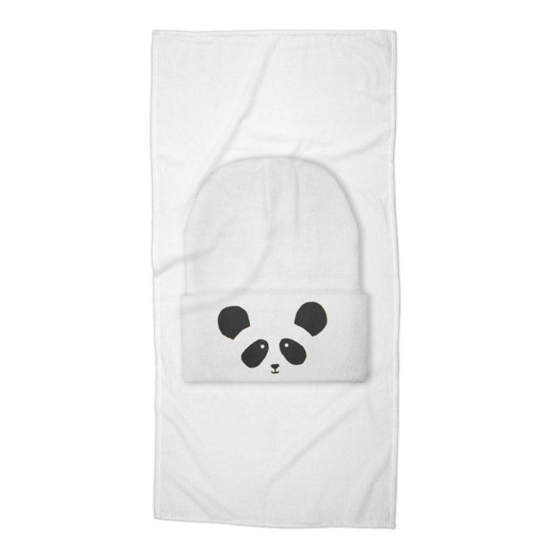 Hello Panda! Accessories Beach Towel by javeriahashmi's Shop