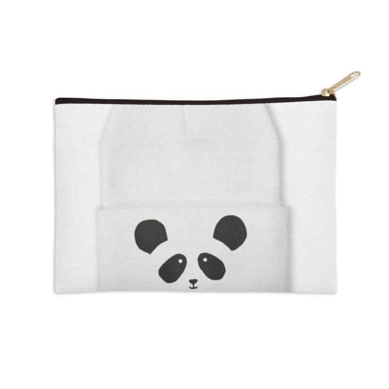Hello Panda! Accessories Zip Pouch by javeriahashmi's Shop