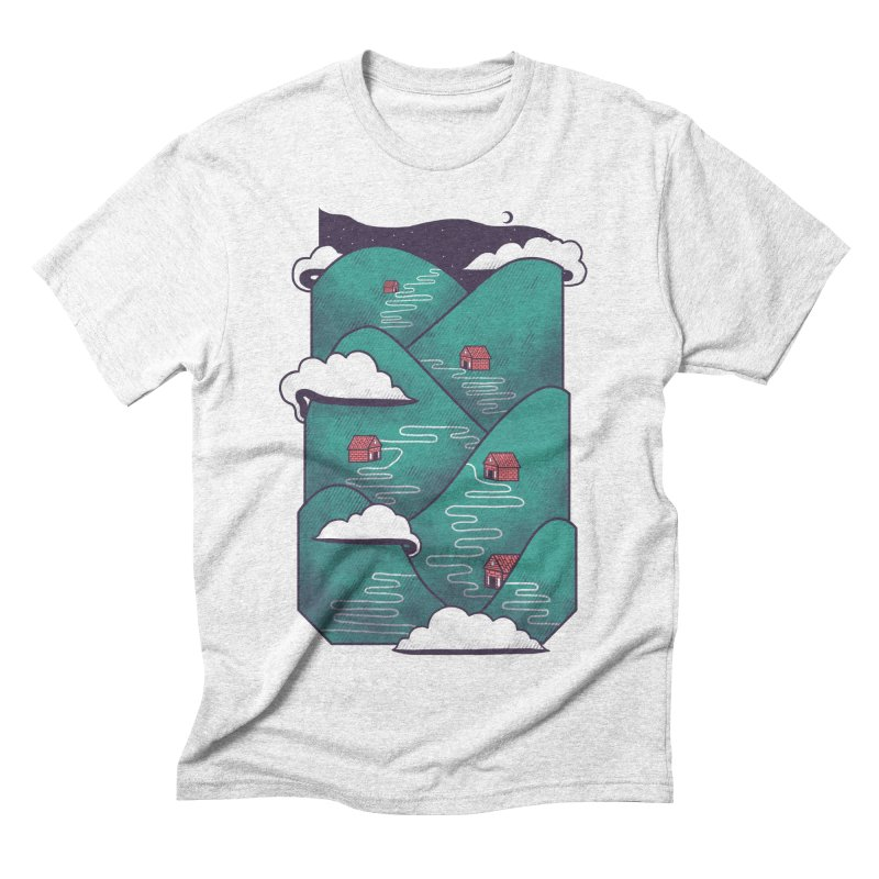 Valley Men's Triblend T-shirt by Jaxxer Apparel