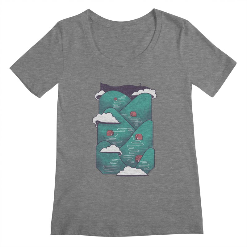 Valley Women's Scoopneck by Jaxxer Apparel