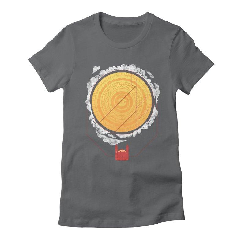 Sundome Women's Fitted T-Shirt by Jaxxer Apparel