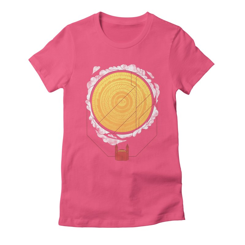 Sundome Women's Fitted T-Shirt by Jaxxer Apparel