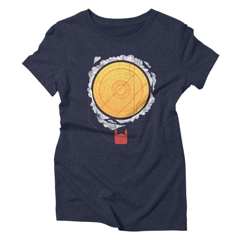 Sundome Women's Triblend T-shirt by Jaxxer Apparel