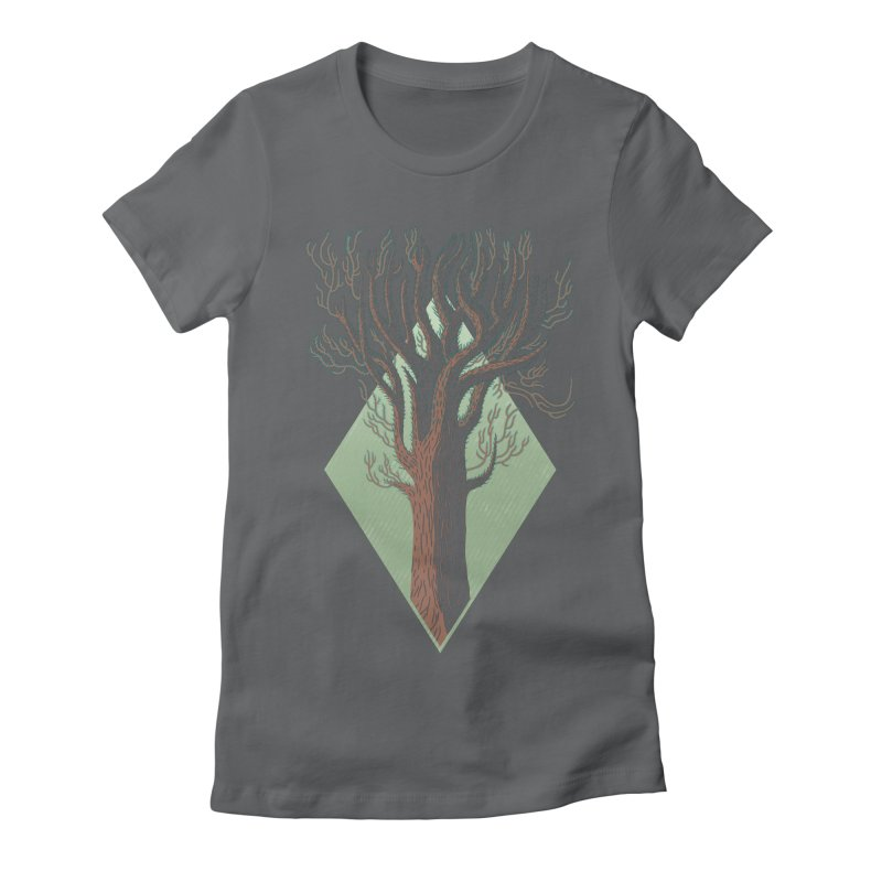 In Spring Women's Fitted T-Shirt by Jaxxer Apparel