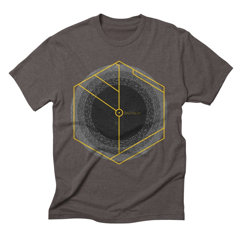 Void Men's Triblend T-Shirt by Jaxxer Apparel