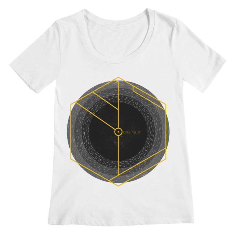 Void Women's Scoopneck by Jaxxer Apparel