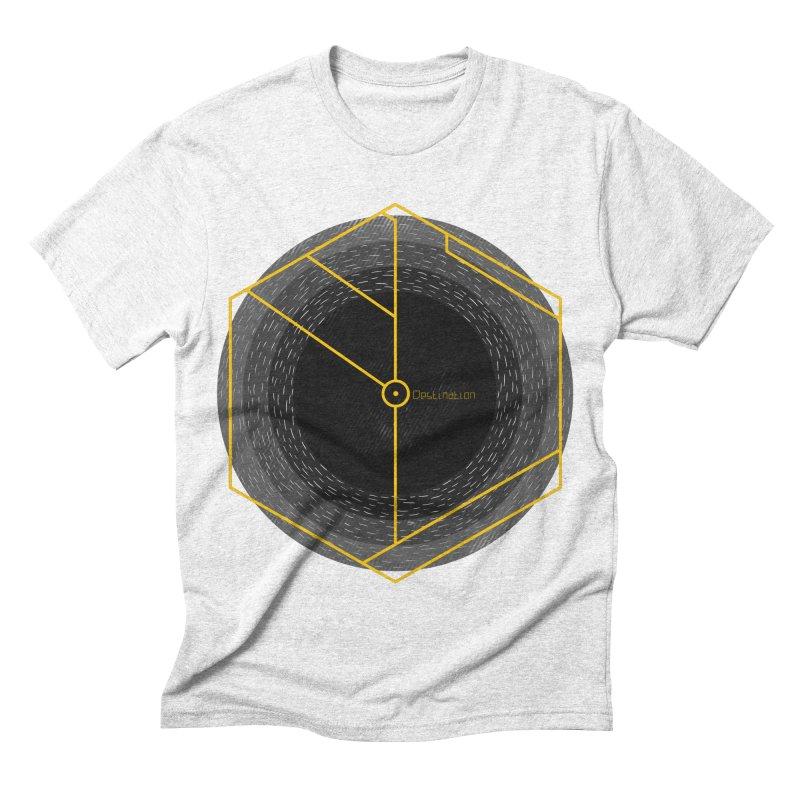 Void Men's Triblend T-shirt by Jaxxer Apparel