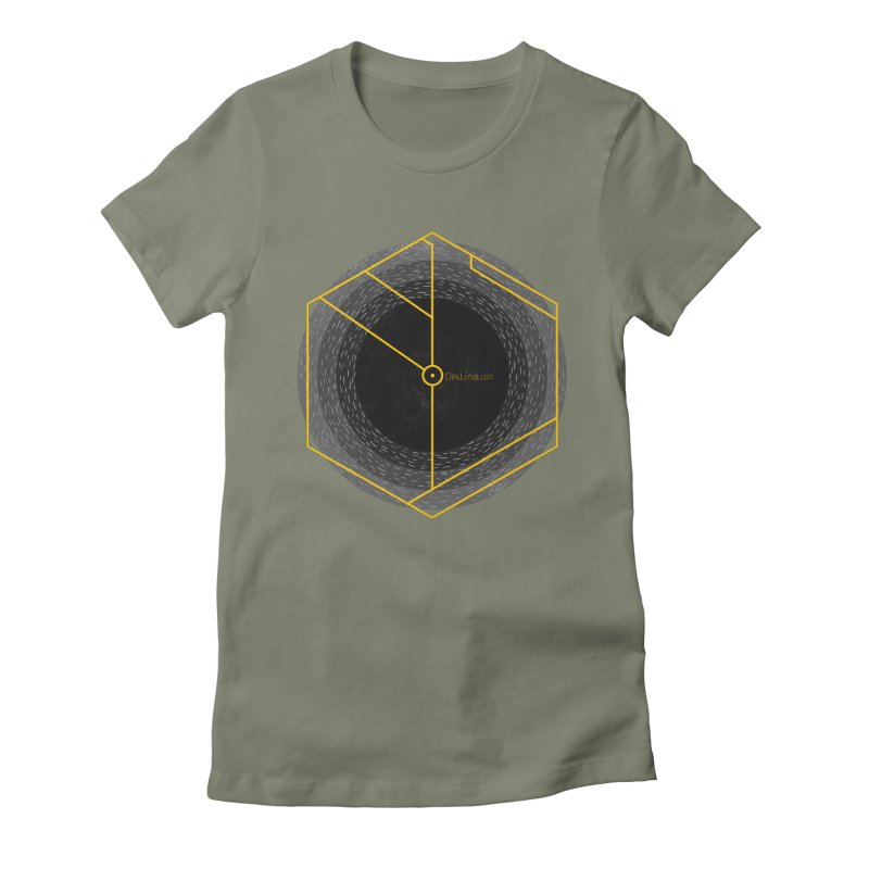 Void Women's Fitted T-Shirt by Jaxxer Apparel