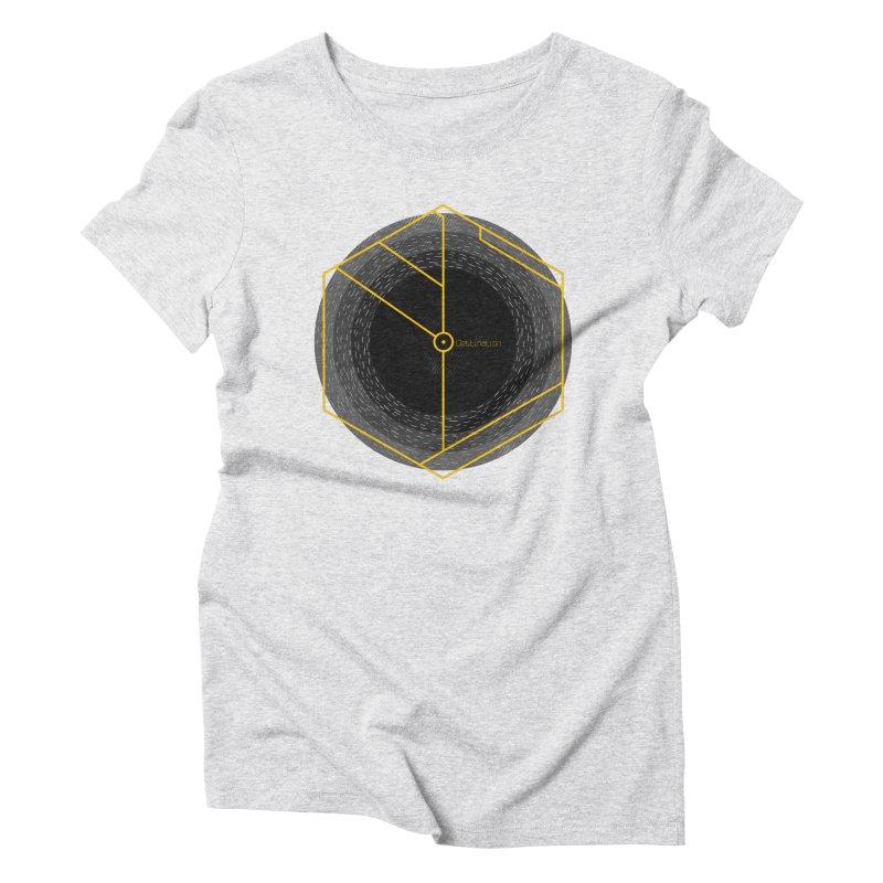 Void Women's Triblend T-Shirt by Jaxxer Apparel