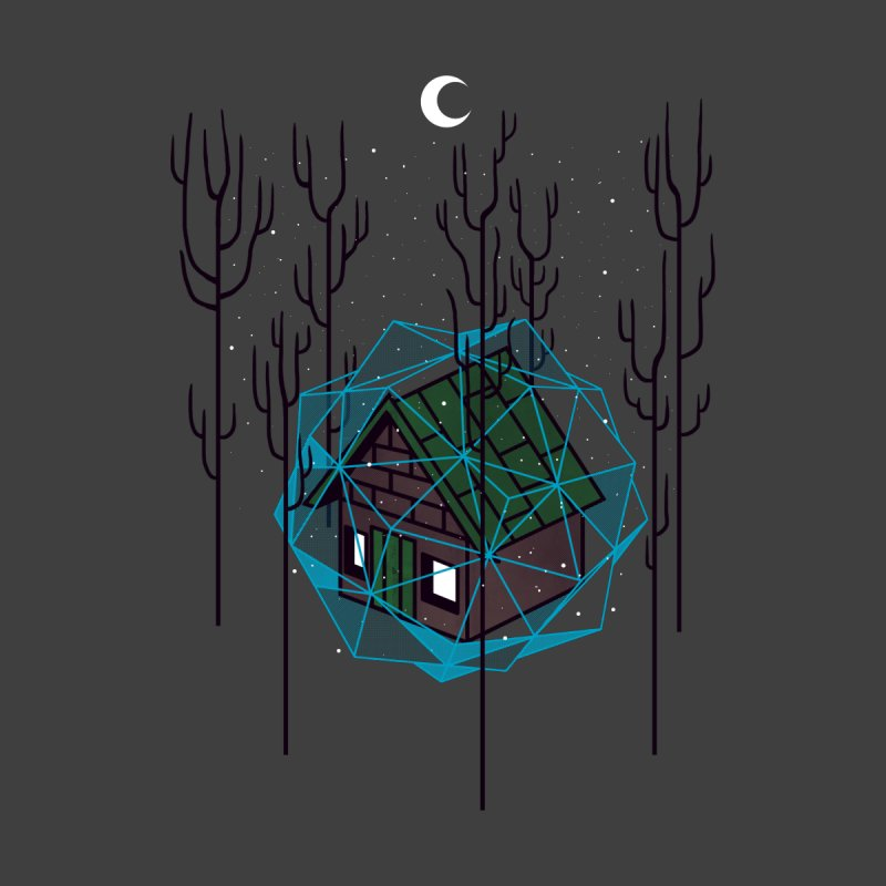 Cabin In The Woods None  by Jaxxer Apparel