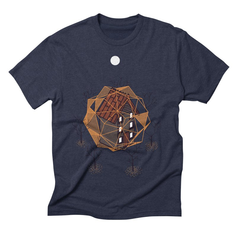 Cabin In The Woods 2 Men's Triblend T-shirt by Jaxxer Apparel