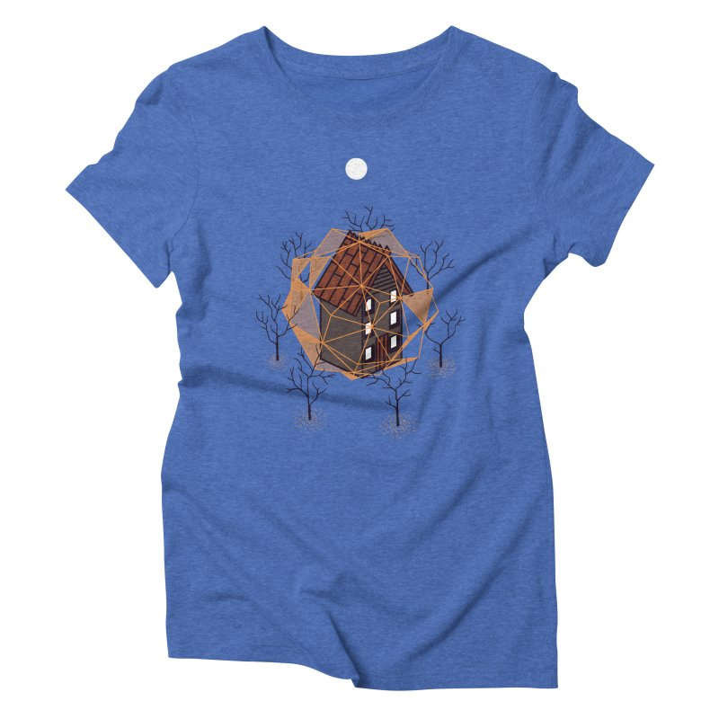 Cabin In The Woods 2 Women's Triblend T-shirt by Jaxxer Apparel