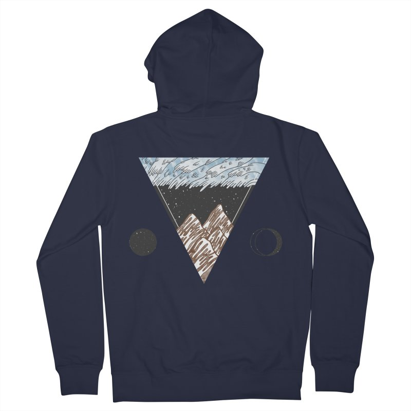 Cold Mountains Women's Zip-Up Hoody by Jaxxer Apparel